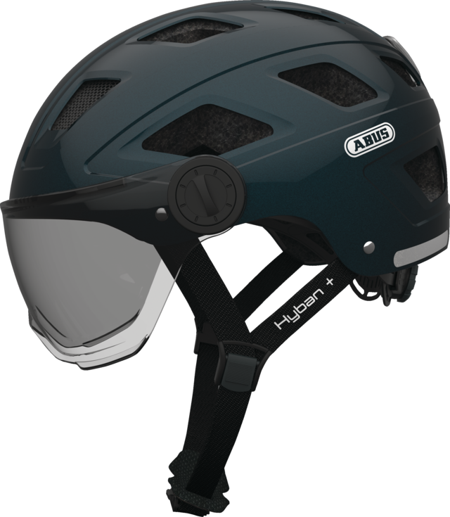 Hyban+ smoke visor midnight blue L