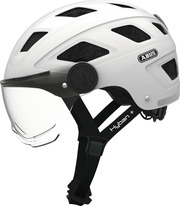Hyban+ clear visor cream white M