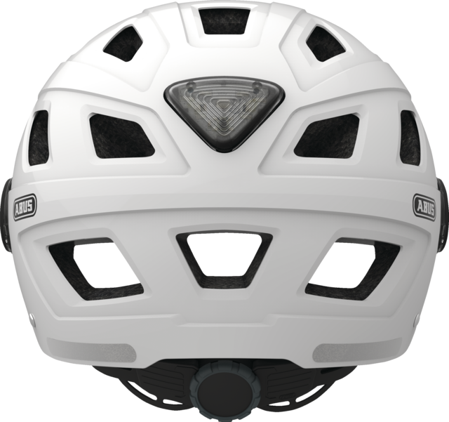 Hyban+ clear visor cream white back view