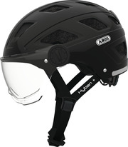 Hyban+ clear visor black L