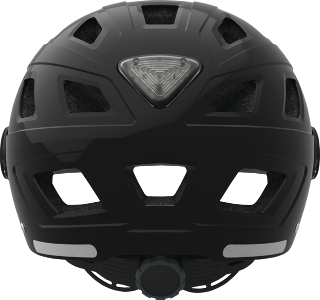 Hyban+ clear visor black vista posterior