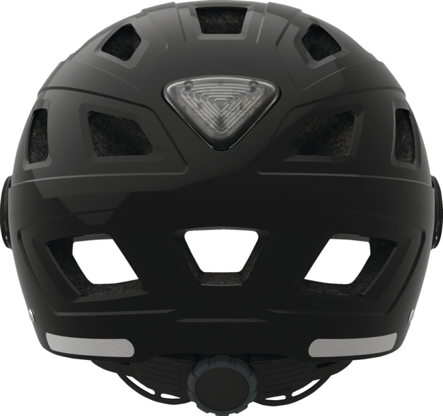 Hyban+ smoke visor black back view