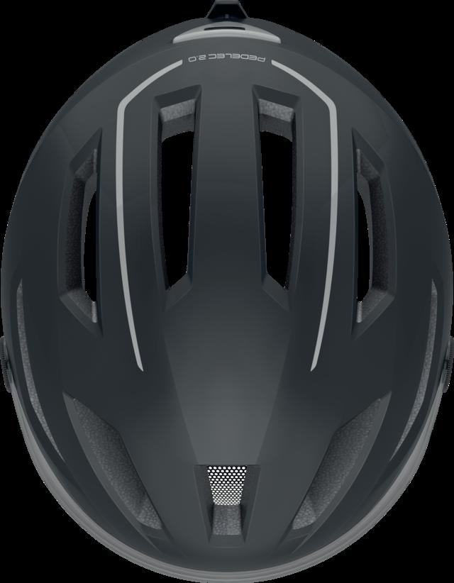 Pedelec Ace 2.0 velvet black vista superior