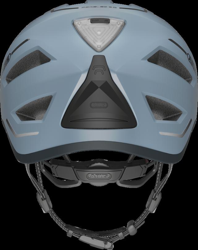 Pedelec 2.0 glacier blue vista posteriore