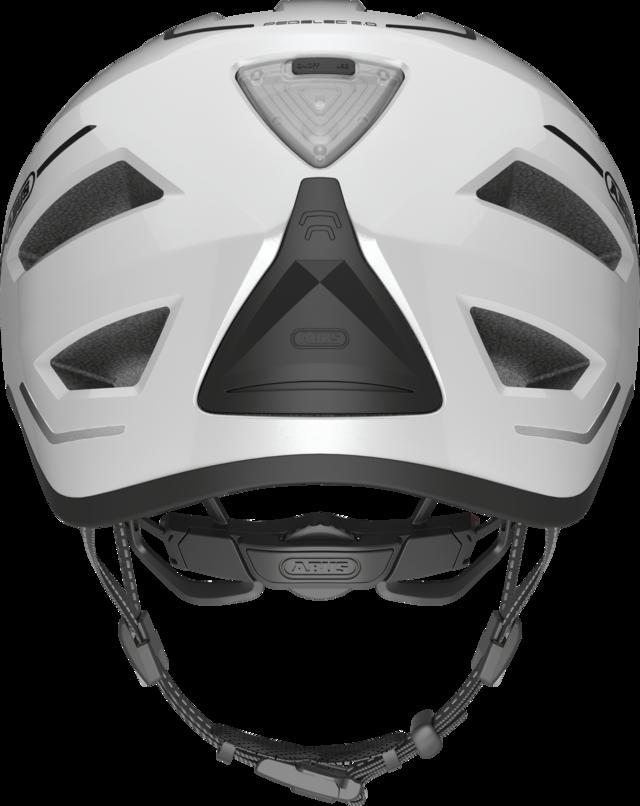 Pedelec 2.0 pearl white vista posteriore