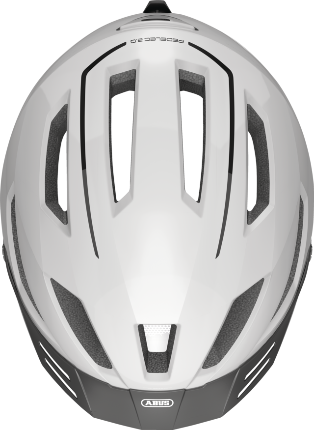Pedelec 2.0 pearl white felülről