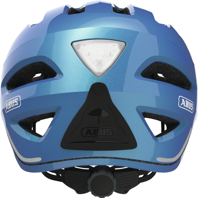 Pedelec 1.1 steel blue Rückansicht