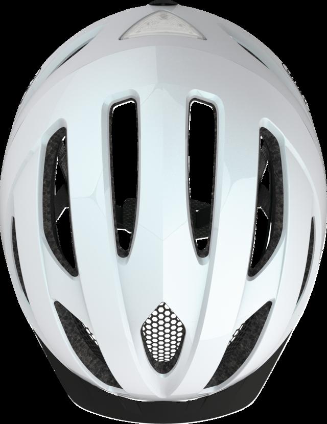 Pedelec 1.1 pearl white top view