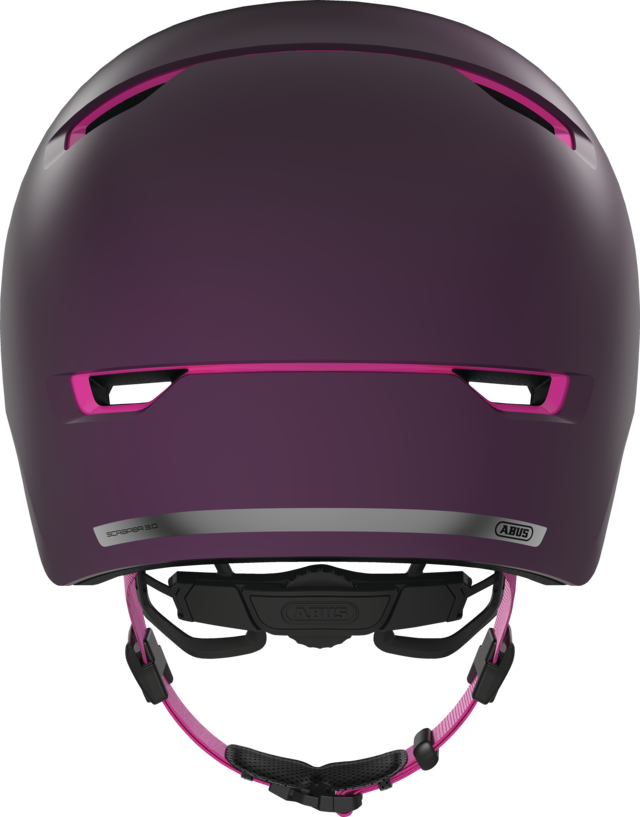 Scraper 3.0 ACE magenta berry back view
