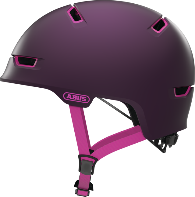 Scraper 3.0 ACE magenta berry side view