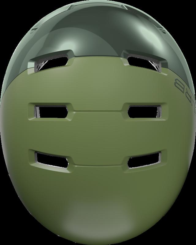 Skurb ACE jade green Draufsicht