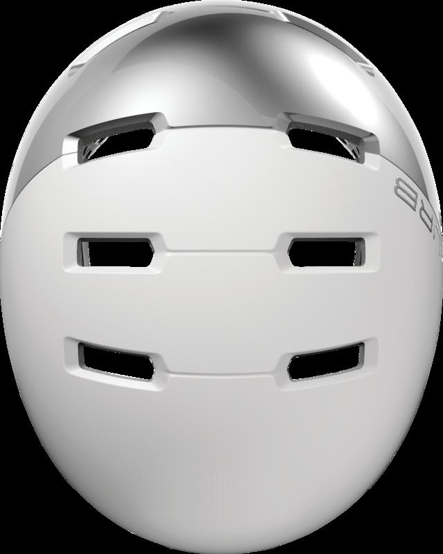 Skurb ACE silver white Draufsicht