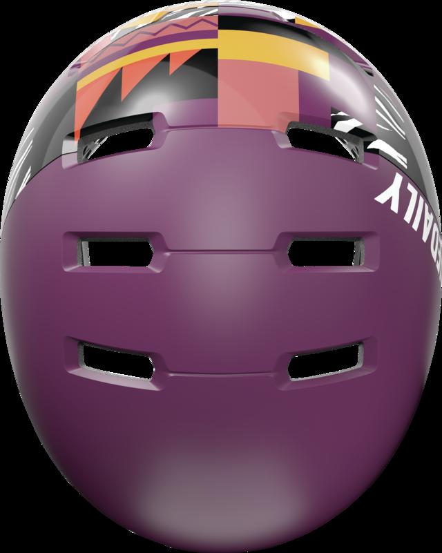 Skurb ACE Iriedaily plum vista superior