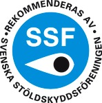 Testsiegel Svenska Stölldskyddsföreningen - Stockholm, Schweden