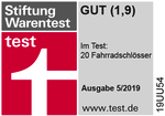 Stiftung Warentest GUT (1,9)