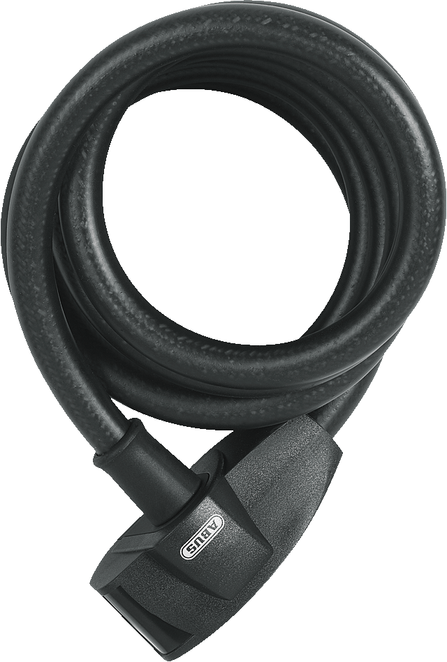 Coil Cable Lock 670/180 Shadow