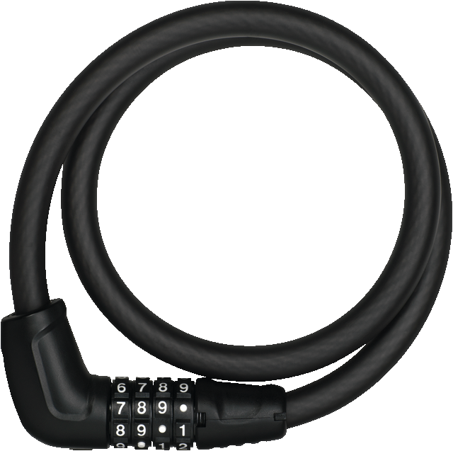 Cable Lock Tresor 6412C/85 black SR