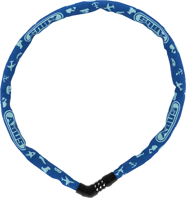 Steel-O-Chain™ 4804C/75 blue SYMBOLS
