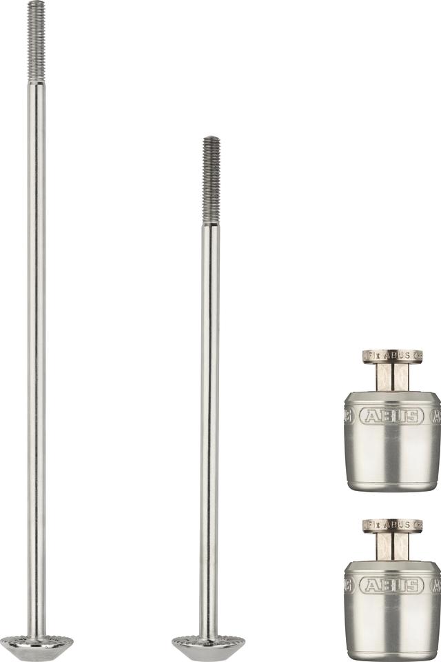 NutFix M5 silver 2x Axle 100/135
