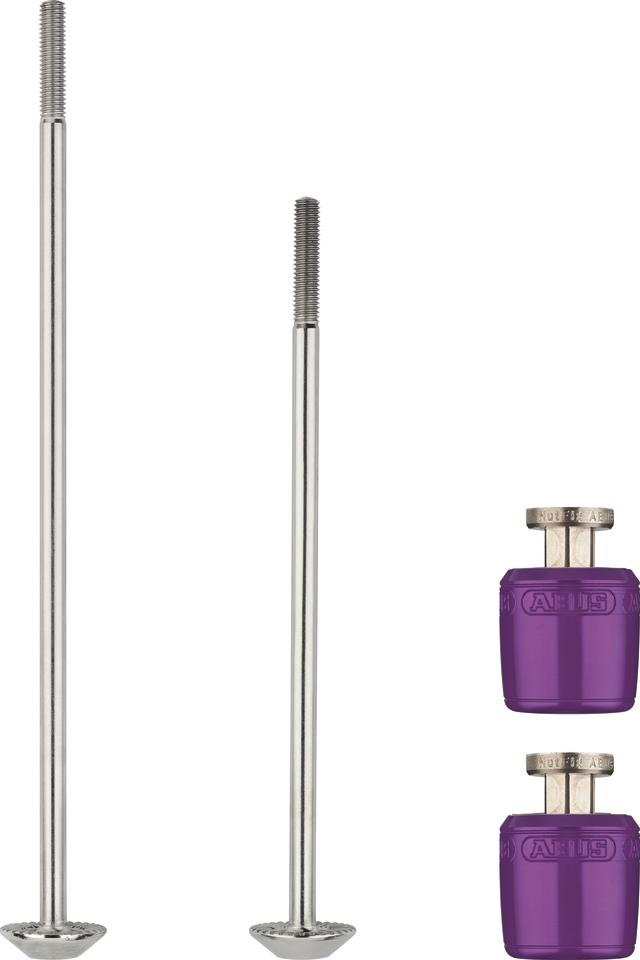 NutFix M5 violet 2x Axle 100/135