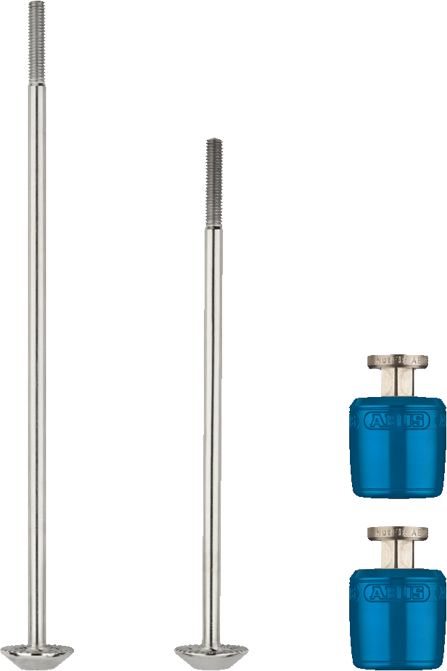 NutFix M5 blue 2x Axle 100/135