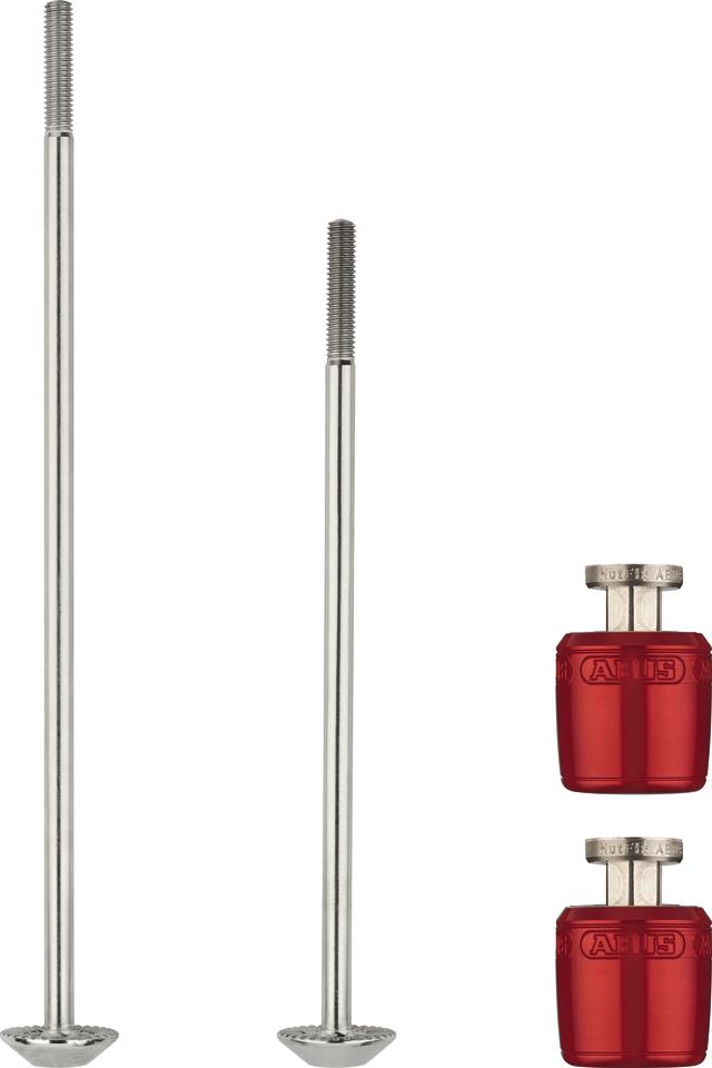 NutFix M5 red 2x Axle 100/135