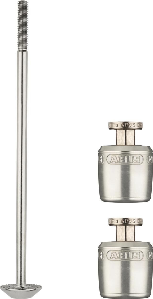 NutFix M5 argento Axle 100