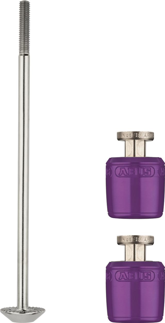 NutFix M5 violett Axle 100