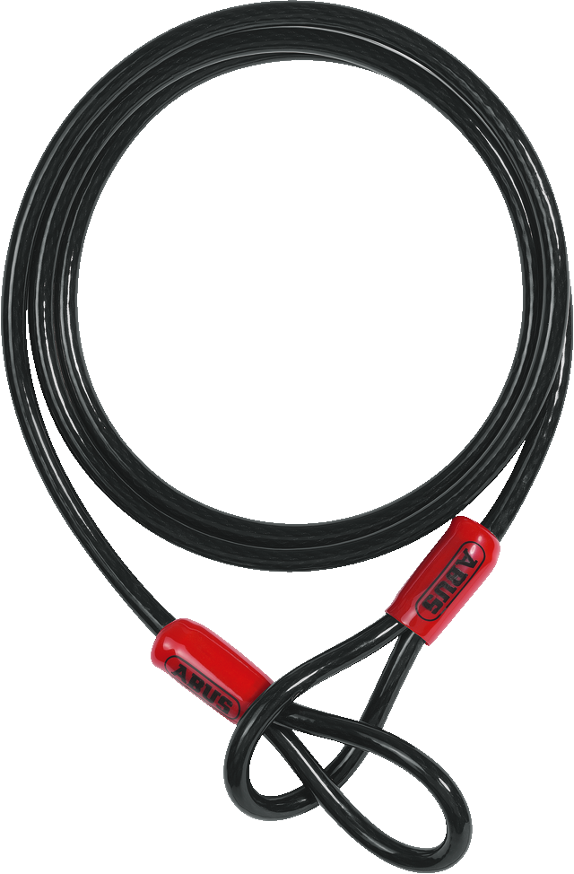 Steel cable Cobra 10/200 black