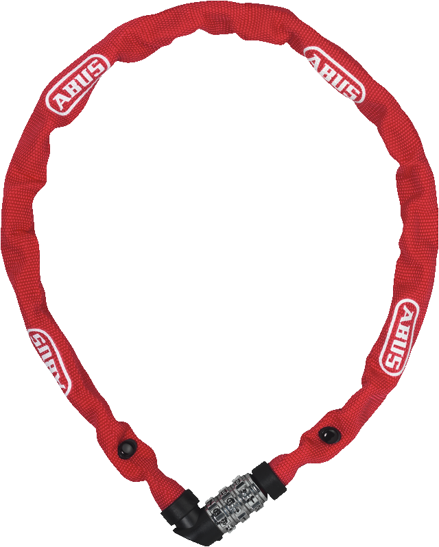 Chain lock 1200/110 web red
