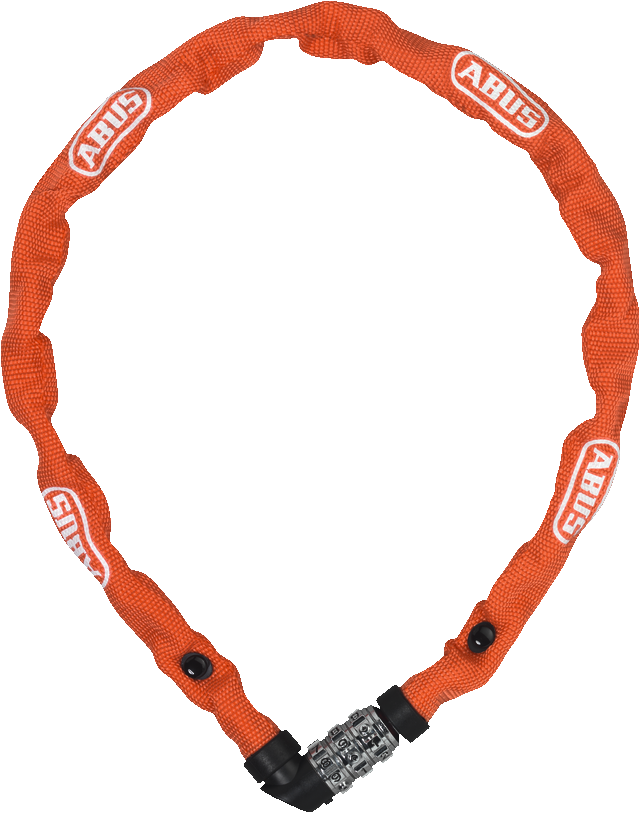 Chain lock 1200/110 web orange