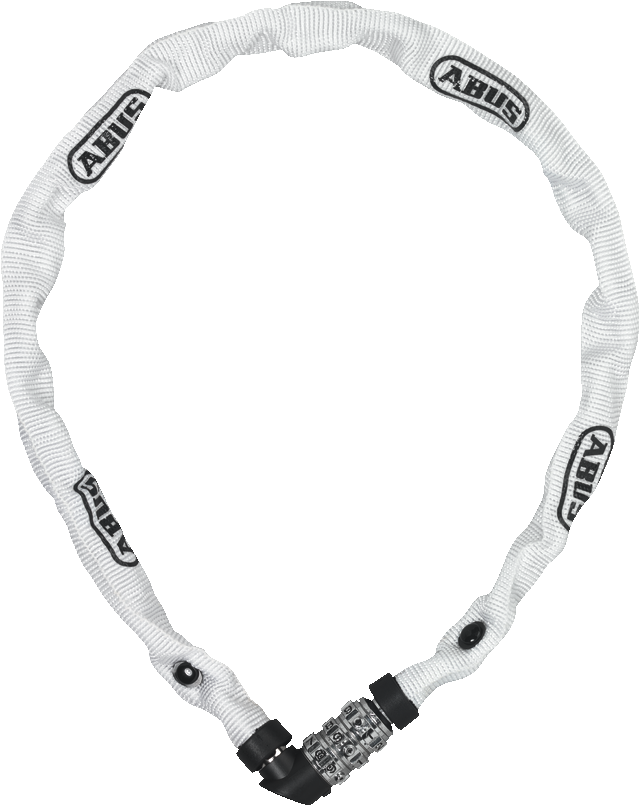 Chain lock 1200/110 web white