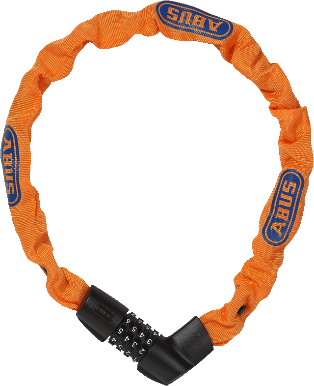 Chain lock Tresor 1385/75 Neon orange