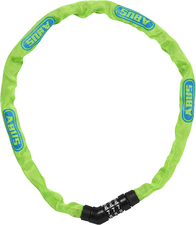 Combinación de candados y cadenas 4804C/75 verde claro