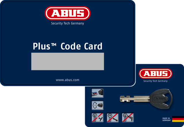 Code Card Plus LED-lighted key