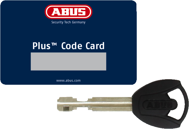 Code Card Plus with key