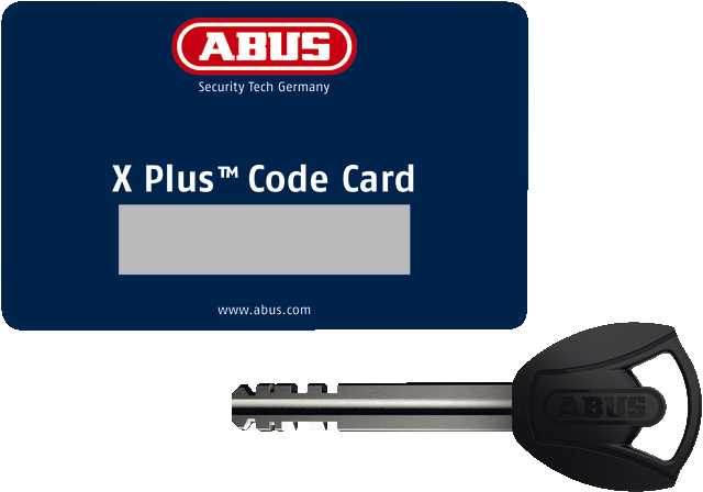 Code Card XPlus™ with key