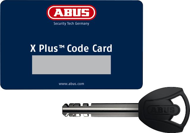 Code Card XPlus™ met sleutel