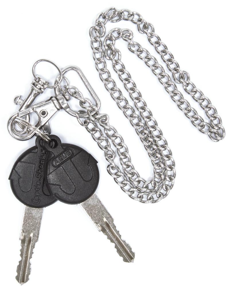 Capt'n Sharky key-ring-chain
