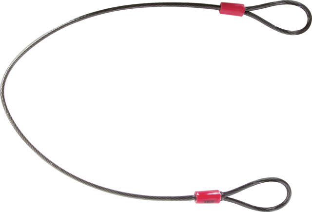 Staalkabel Cobra 5/75 zwart