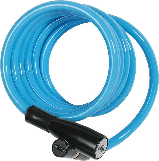 Coil Cable Lock 1950/120 Kids 3 per colour