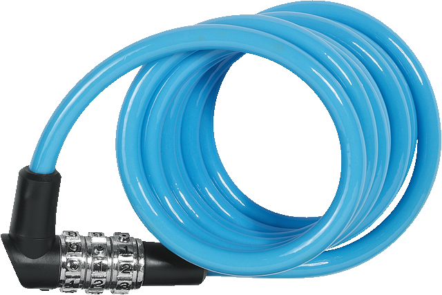 Coil Cable Lock 3506C/120 Color