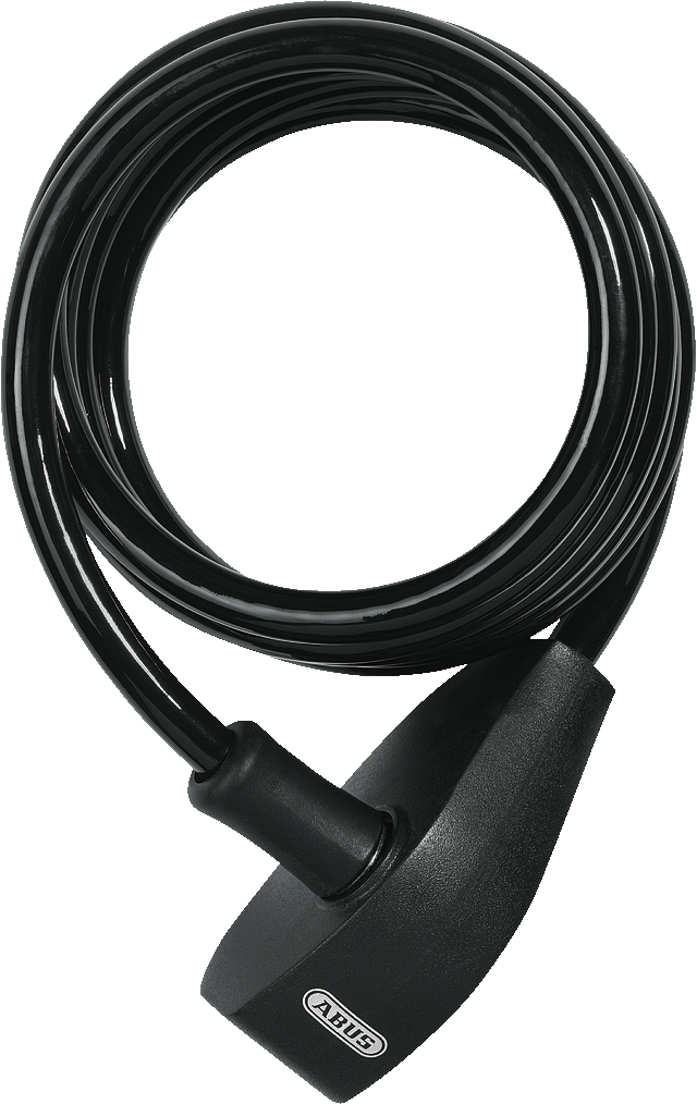 Coil Cable Lock 490/150LL black Star