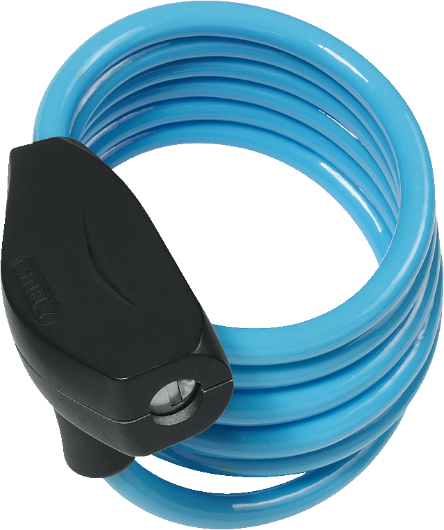 Coil Cable Lock 490/150 Kids 3 per colour