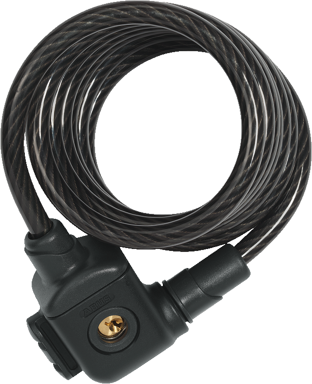 Coil Cable Lock 885/185 black KF
