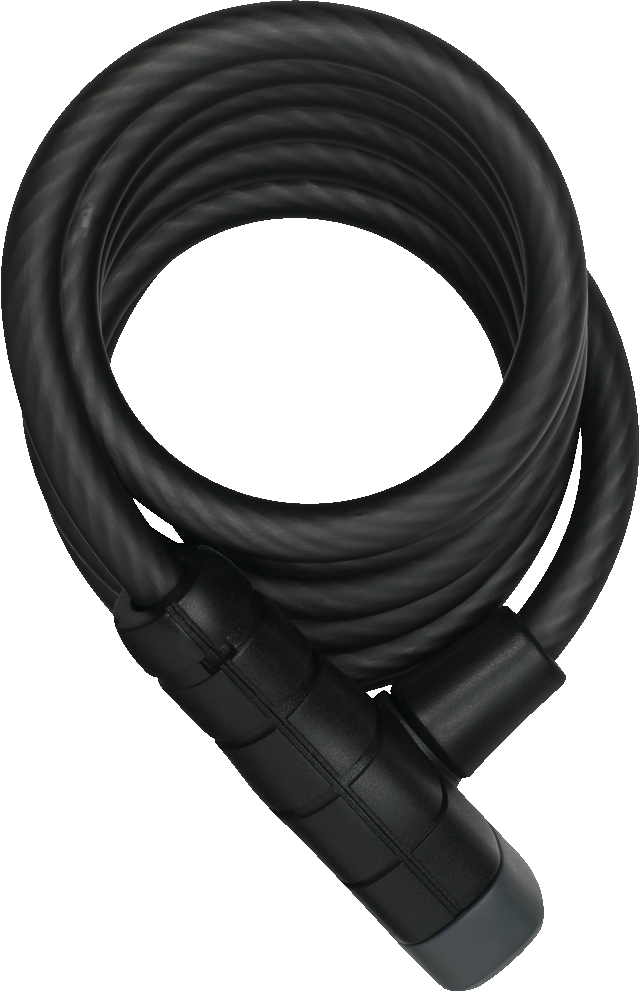 Coil Cable Lock 5510K/180/10 black