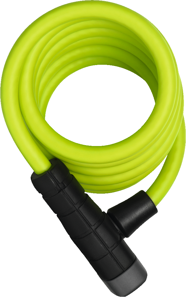 Coil Cable Lock 5510K/180/10 lime