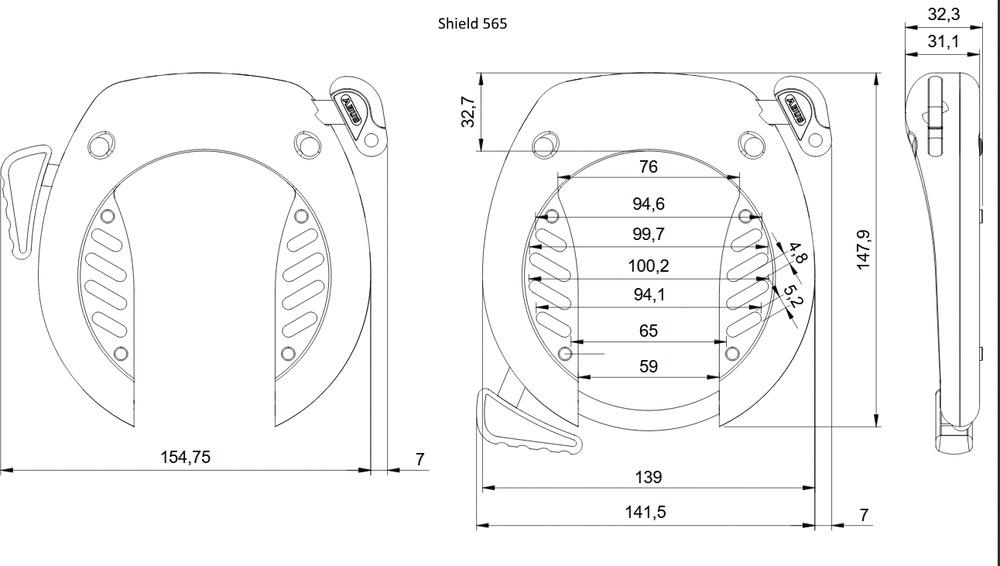 Disegno tecnico - SHIELD™ 565
