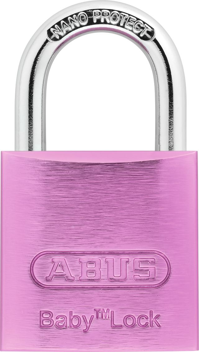 Vorhangschloss Aluminium 645TI/30 Baby Lock