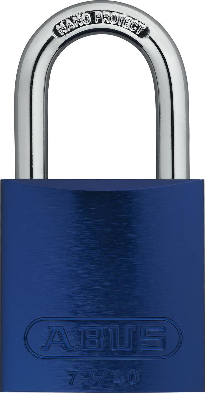 Vorhangschloss Aluminium 72/40 TITALIUM™